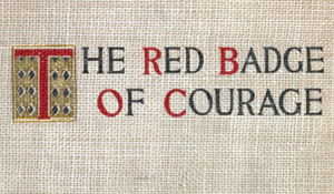 the believes of the main character in the book the red badge of courage In his two major works, the red badge of courage and maggie: a girl of the  streets, crane's characters experience internal conflict and.