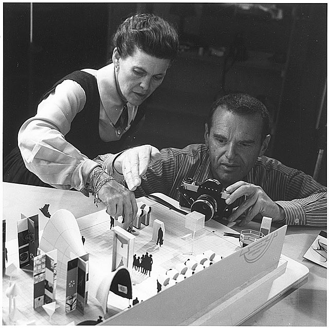 biography the work of charles and ray eames a legacy of. Black Bedroom Furniture Sets. Home Design Ideas