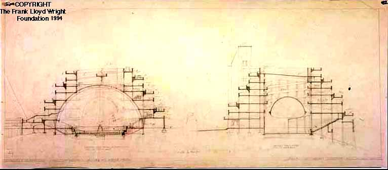 Frank Lloyd Wright Arizona >> Gordon Strong Automobile Objective - Frank Lloyd Wright: Designs for an American Landscape, 1922 ...