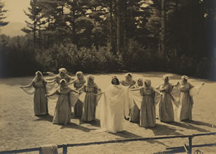 The Muses from The 1910 Peterborough Pageant