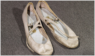"Carol Lawrence's Ballet Slippers from the ""Somewhere Ballet"""