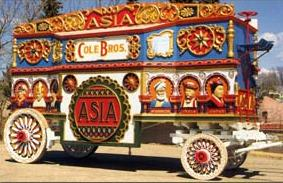 "Cole Brothers ""Asia"" tableau"