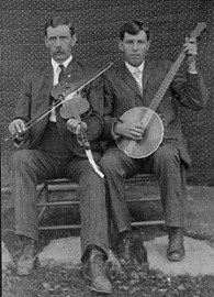 Josh and Henry Reed, ca. 1903.