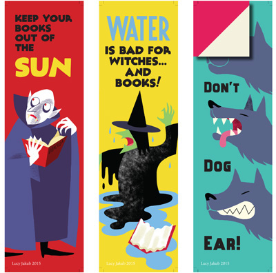 thumbnail of Be Kind to Books Club poster series
