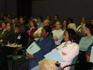 Panel presentation audience