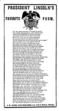 American Memory Library Of Congress Poetry Resources