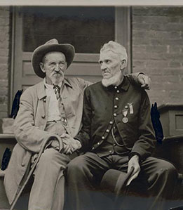 [Semi-Centennial of the Battle of Gettysburg All enemity forgotten]
