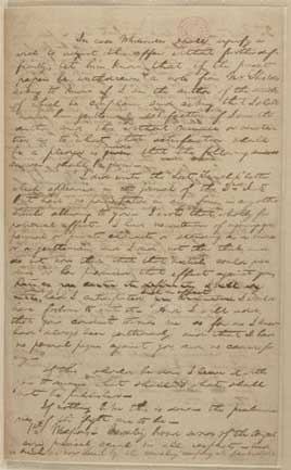 Abraham Lincoln to Elias H. Merryman, [September 19, 1842] (Dueling instructions)