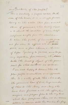 Abraham Lincoln, [May-June 1861] (Message to Congress, July 4, 1861, Handwritten Draft)