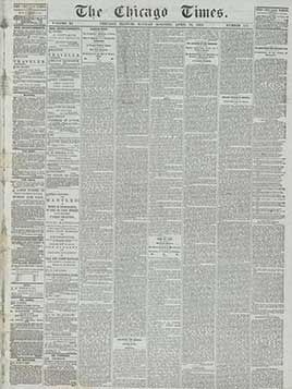 The Chicago Times, April 24, 1865