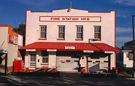 Fire Station No. 6 (then a tavern), angle 1