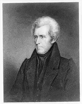 Andrew Jackson, seventh President of the United States (1829-1837)