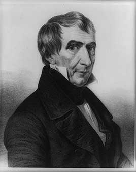 William Henry Harrison, ninth President of the United States (1841)