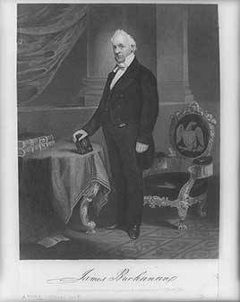 James Buchanan, 15th President of the United States (1857-1861)