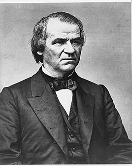 Andrew Johnson, 17th President of the United States (1865-1869)