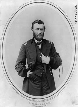 Ulysses S. Grant, 18th President of the United States (1869-1877)