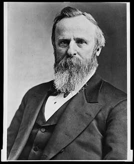 Rutherford B. Hayes, 19th President of the United States (1877-1881)