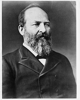 James Garfield, 20th President of the United States (1881)