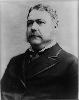 Chester A. Arthur, 21st President of the United States (1881-1885)