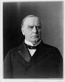 William McKinley, 25th President of the United States (1897-1901)