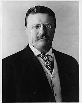 Theodore Roosevelt, 26th President of the United States (1901-1909)