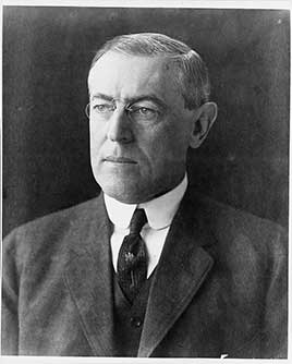 Woodrow Wilson, 28th President of the United States (1913-1921)