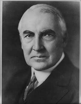 Warren G. Harding, 29th President of the United States (1921-1923)