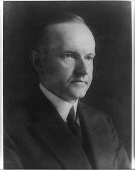 Calvin Coolidge, 30th President of the United States (1923-1929)