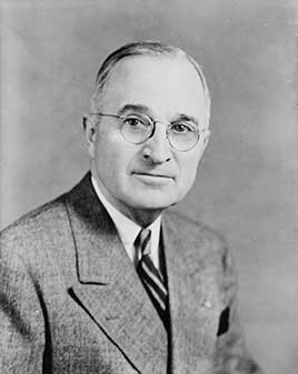 Harry S. Truman, 33rd President of the United States (1945-1953)