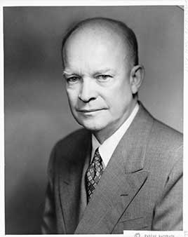 Dwight D. Eisenhower, 34th President of the United States (1953-1961)