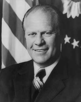 Gerald Ford, 38th President of the United States (1974-1977)
