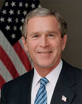 George W. Bush 43rd President of the United States (2001-2009)
